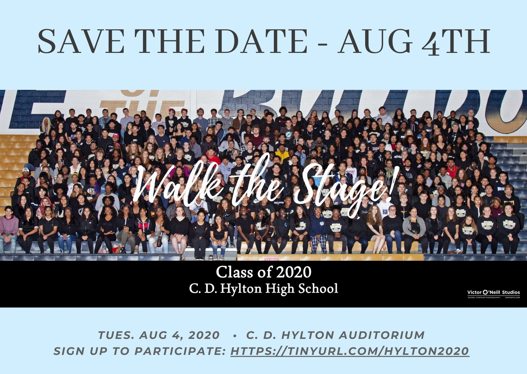 Walk the Stage Aug, 4th