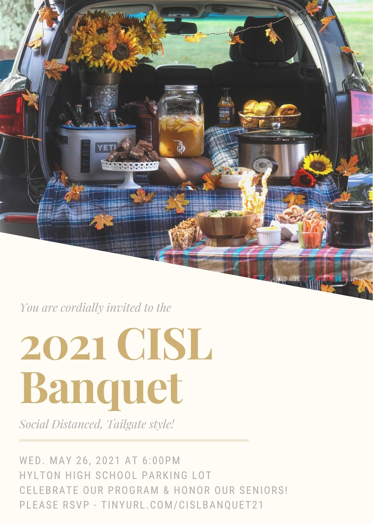 CISL Banquet invitation